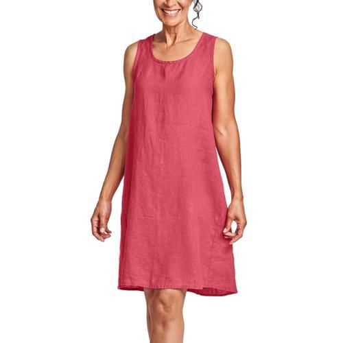 FLAX Women's Flourish Dress Rhubarb