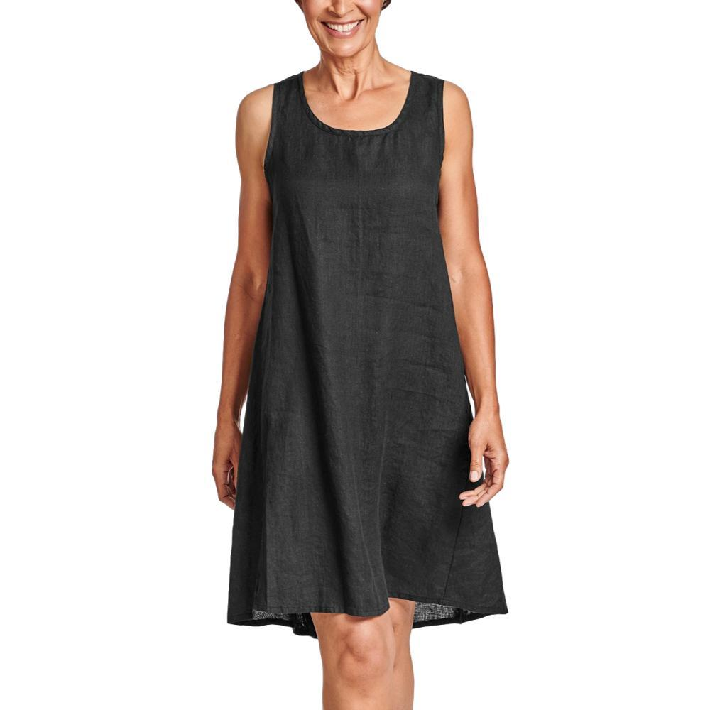 FLAX Women's Generous Flourish Dress BLACK