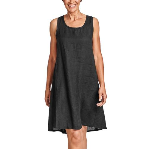 FLAX Women's Generous Flourish Dress Black