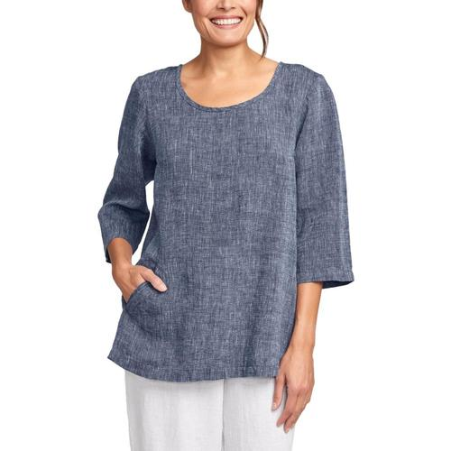 FLAX Women's Back Up Tunic Mdnghtyarn
