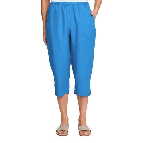 FLAX Women's Pedal Pant Azure