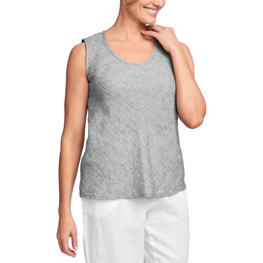 FLAX Women's Sleeveless Bias Top PLATNMYARN