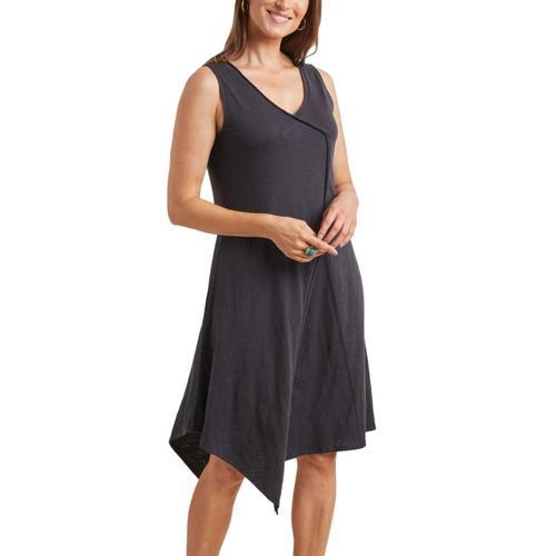 Habitat Women's Asymmetrical Tank Dress Black