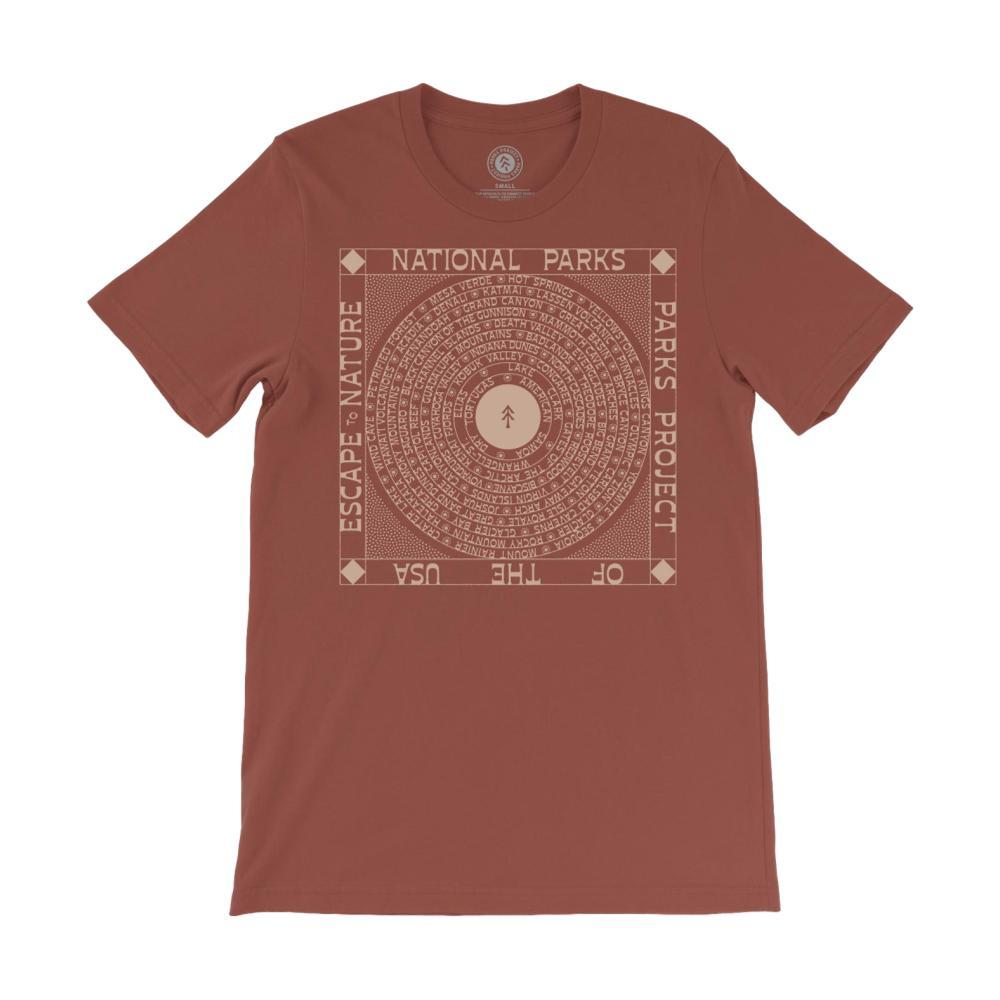 Parks Project Unisex Escape to Nature Tee RUST
