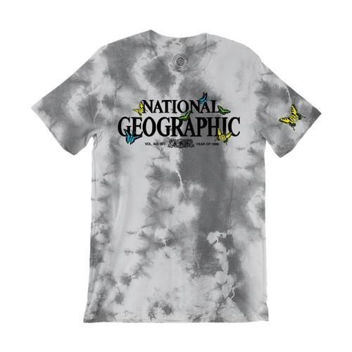 National Geographic X Parks Project Unisex Butterflies Tie Dye Tee Tiedye