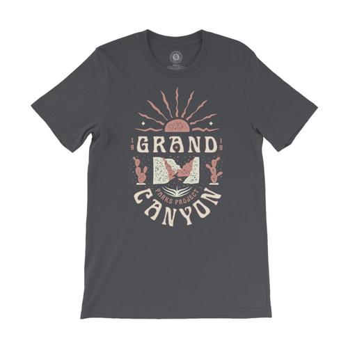 Parks Project Unisex Grand Canyon Cacti Tee Asphalt