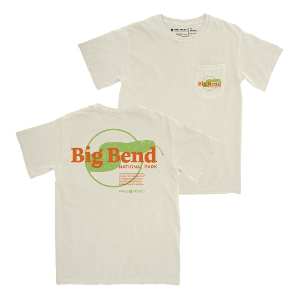 Parks Project Unisex Big Bend Puff Print Pocket Tee NATURAL