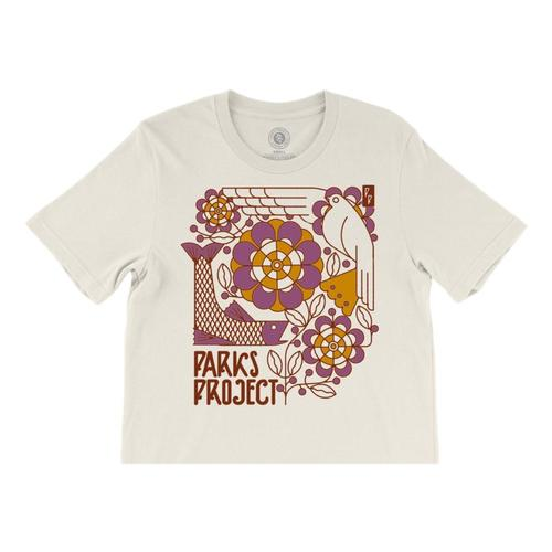 Parks Project Women's Art Decco Boxy Tee Natural
