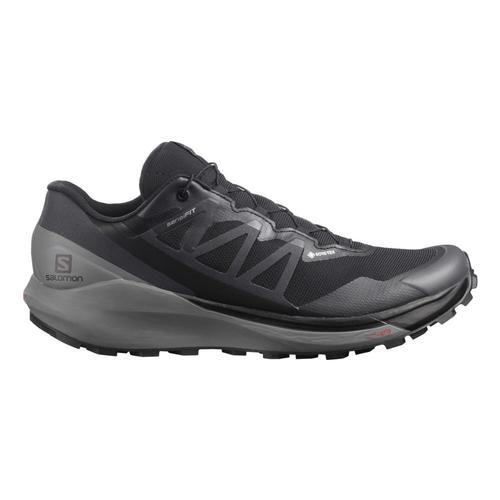 Salomon Men's Sense Ride 4 GORE-TEX Invisible Fit Trail Running Shoes Blk.Qtshd