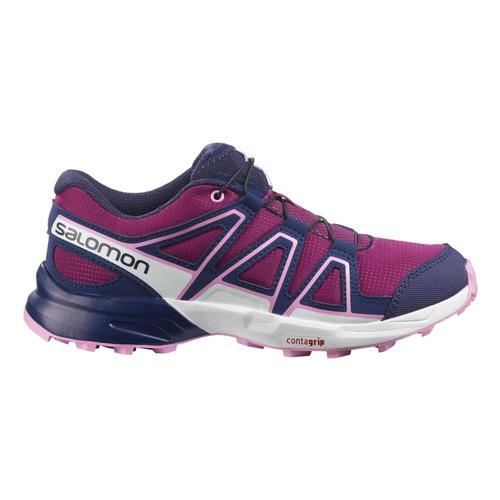 Salomon Kids Speedcross Shoes Plum