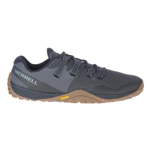 Merrell Men's Trail Glove 6 Running Shoes Blk.Gum