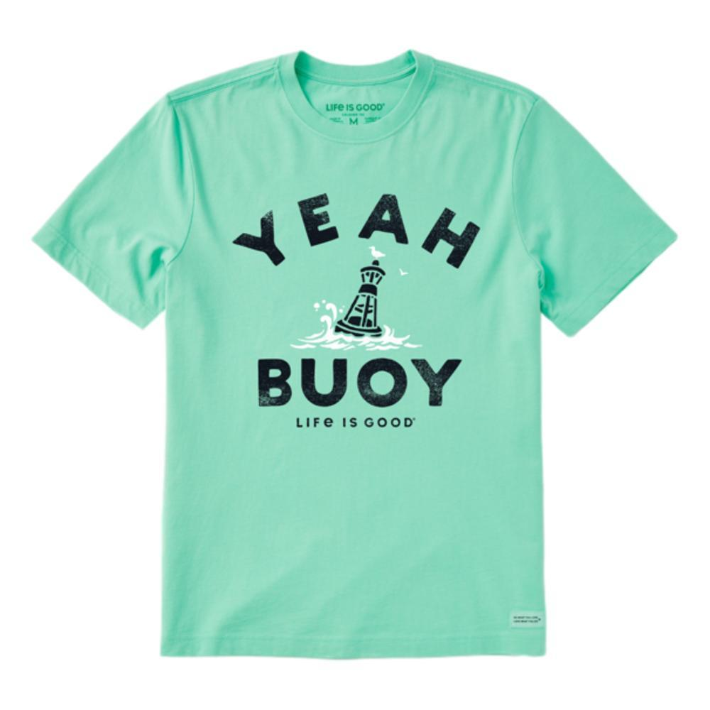 Life is Good Men's Yeah Buoy Crusher Tee SPEARMINTG