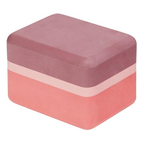 Manduka Recycled Foam Yoga Mini Block Clay