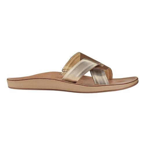OluKai Women's Nonohe 'Olu Sandals Tan.Gsnd_34gs