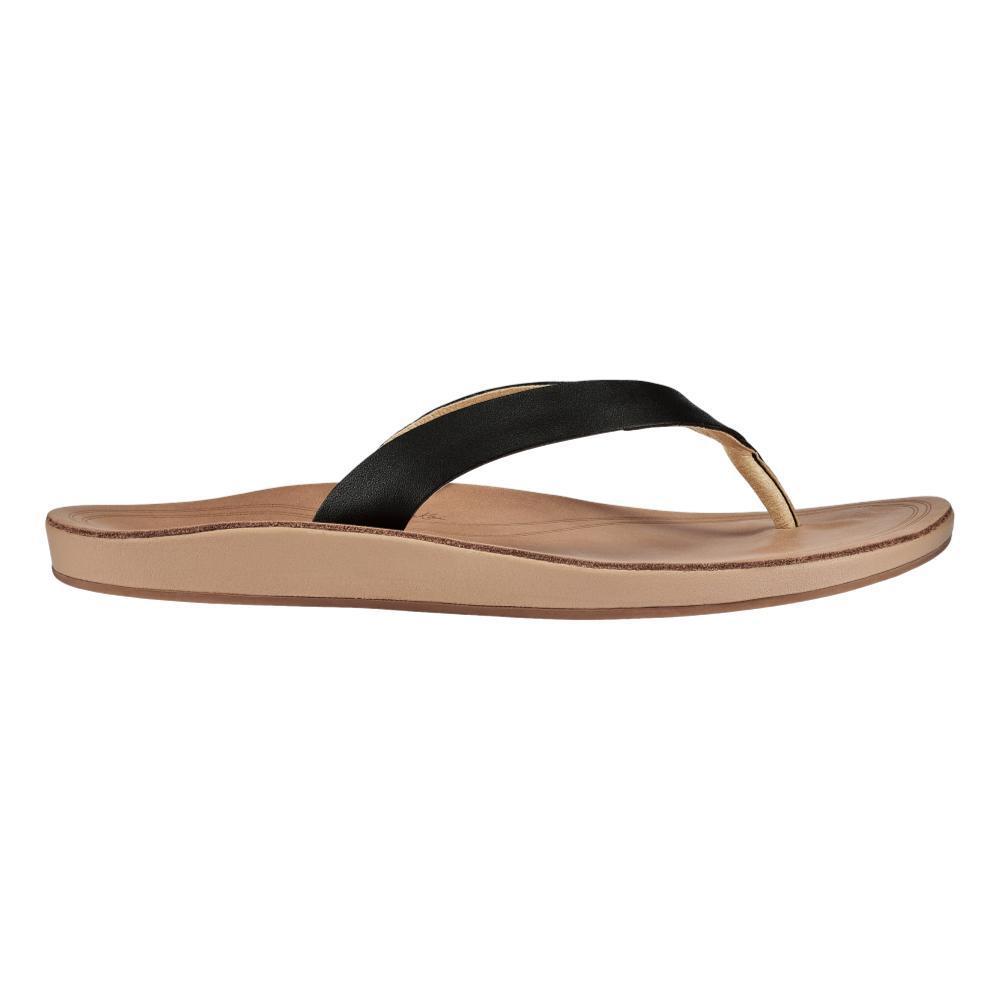 OluKai Women's Nonohe Sandals BLK.GSND_40GS