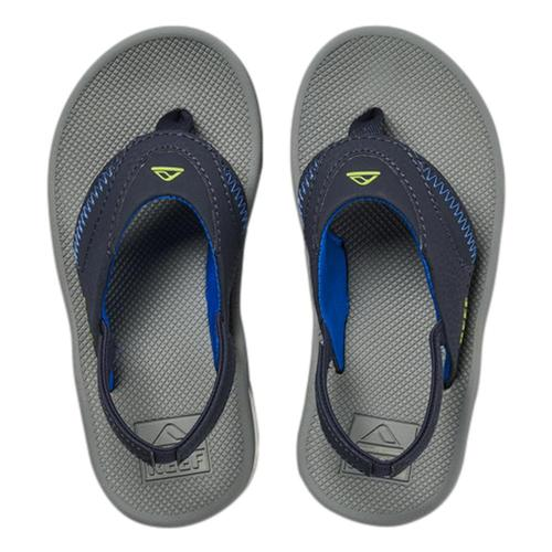 Reef Kids Little Fanning Sandals Navy_lime