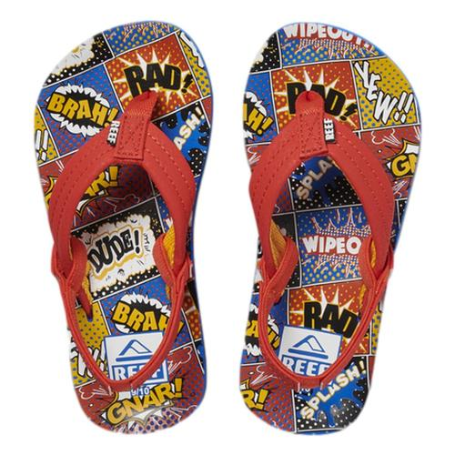 Reef Kids Little Ahi Sandals Comicbook