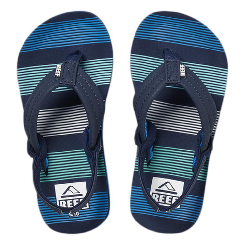 Reef Kids Little Ahi Sandals DEEPSEASTRP