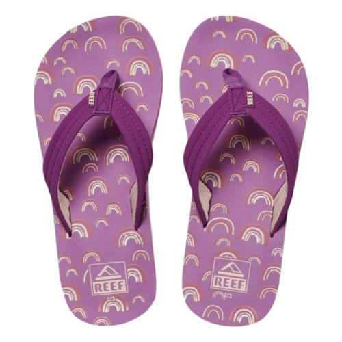 Reef Kids Ahi Sandals Prplrainbo