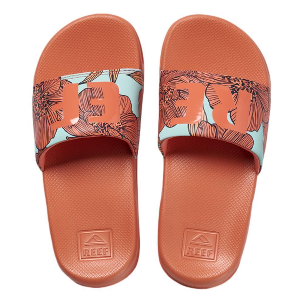 Reef Kids One Slide Sandals CORAL
