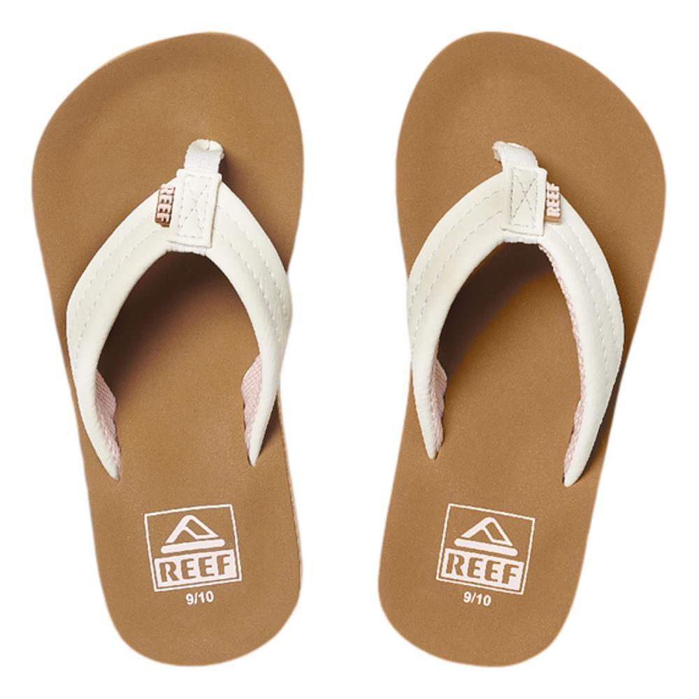 Reef Kids Ahi Wedge Sandals CLOUD