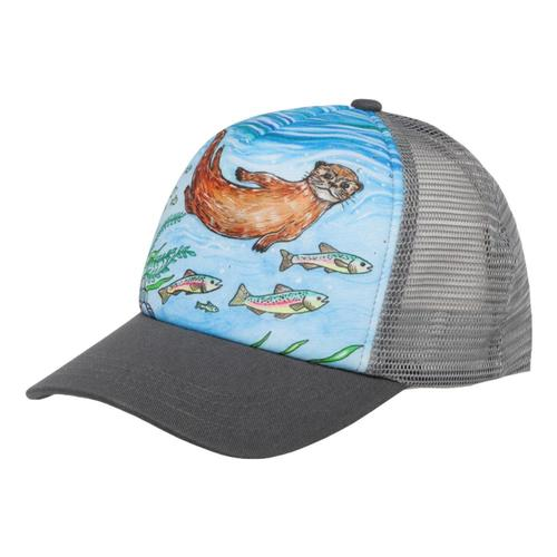 Sunday Afternoons Kids River Otter Trucker Hat Otter