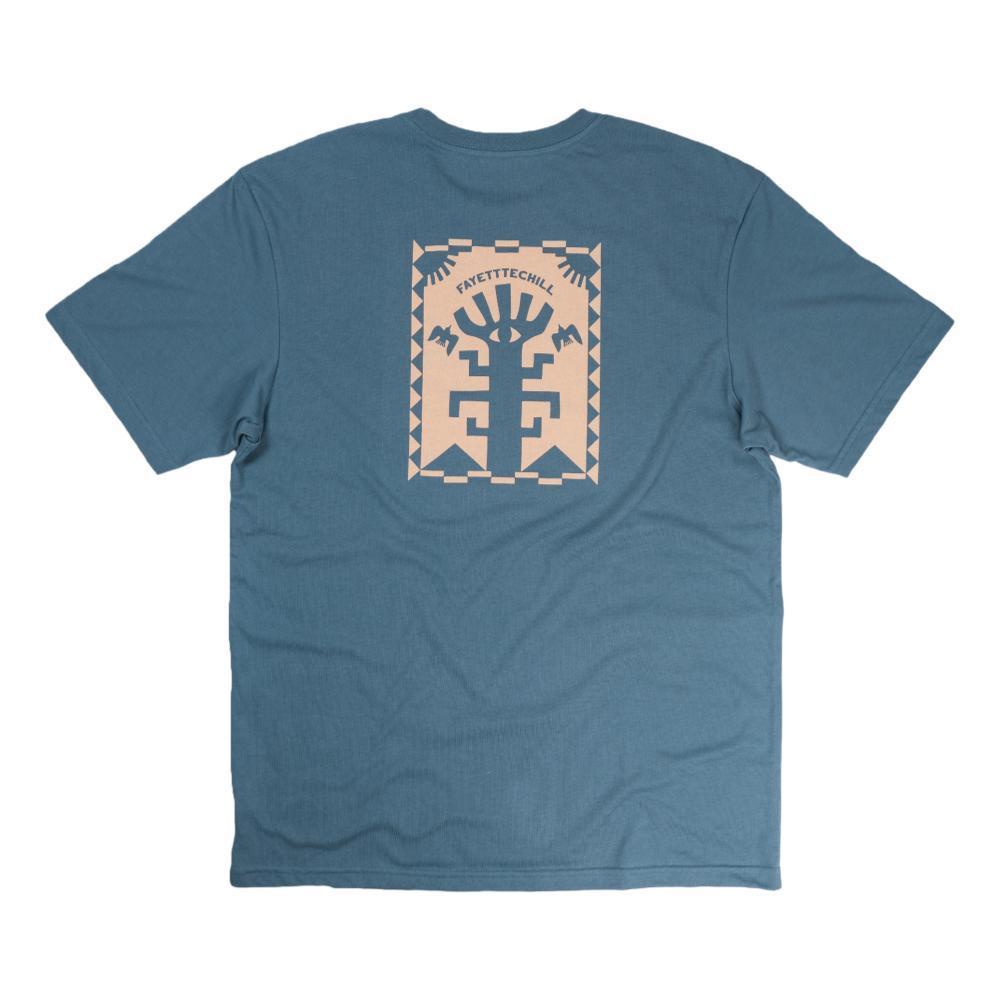 Fayettechill Men's Wise Woods Tee Shirt PEAKBLUE