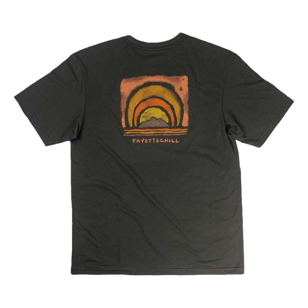 Fayettechill Men's Radiate Tee Shirt BLACKINK