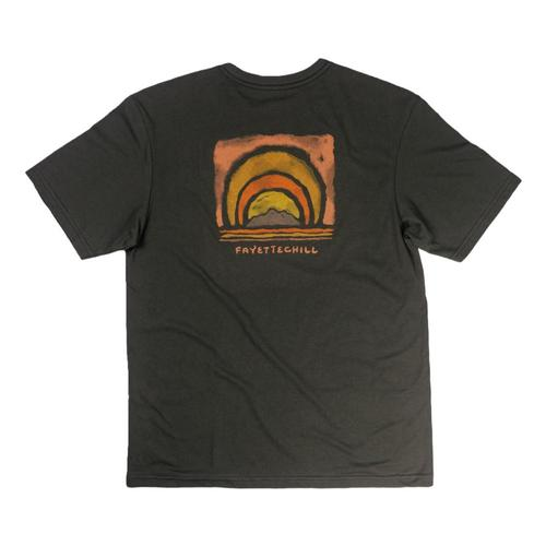 Fayettechill Men's Radiate Tee Shirt Blackink