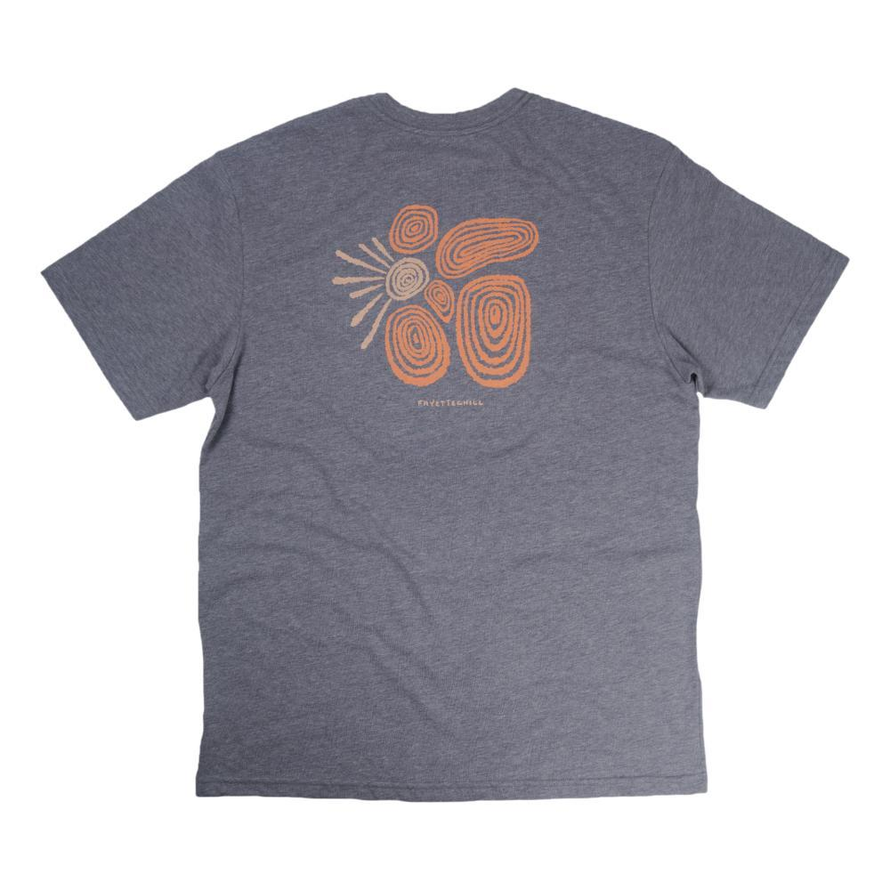 Fayettechill Men's Sundaze Tee Shirt HTHGRAY