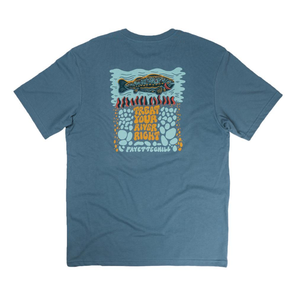 Fayettechill Men's TYRR Tee Shirt GRANITE