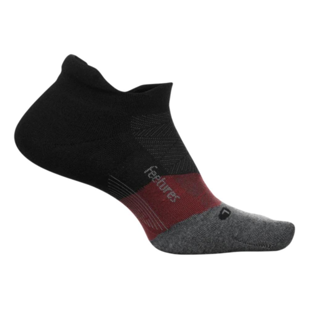 Feetures Unisex Elite Ultra Light No Show Tab Socks SMOKQUARTZ