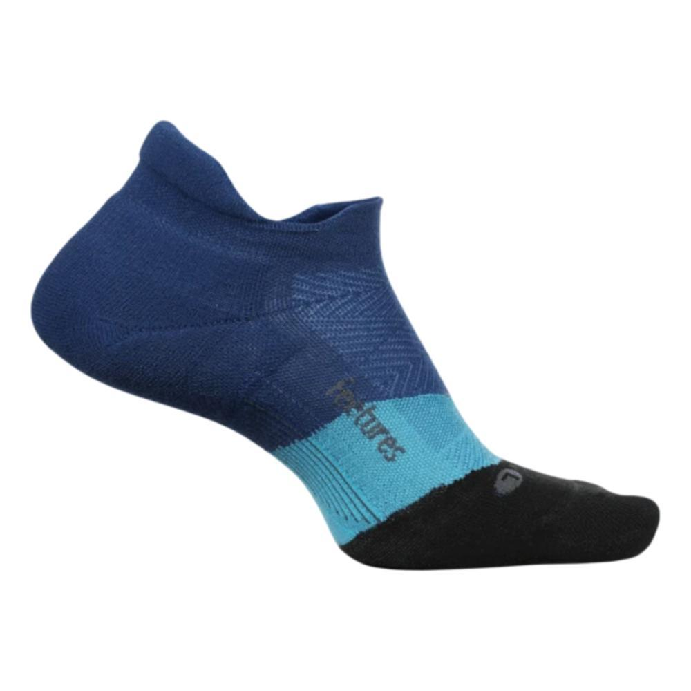 Feetures Unisex Elite Light Cushion No Show Tab Socks OCEANIC