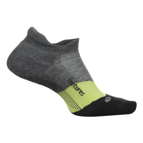 Feetures Unisex Elite Max Cushion No Show Tab Socks Nightvisio