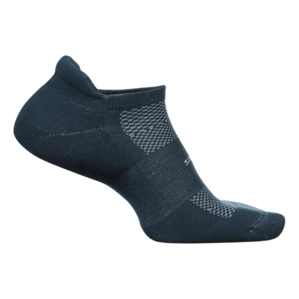 Feetures Unisex High Performance Ultra Light No Show Tab Socks FRENCHNAVY