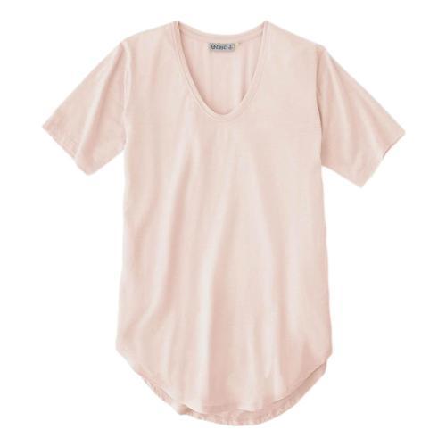 tasc Women's Longline T-Shirt Crane_688