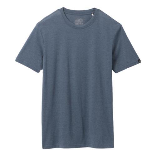 prAna Men's Crew T-Shirt Denimhthr