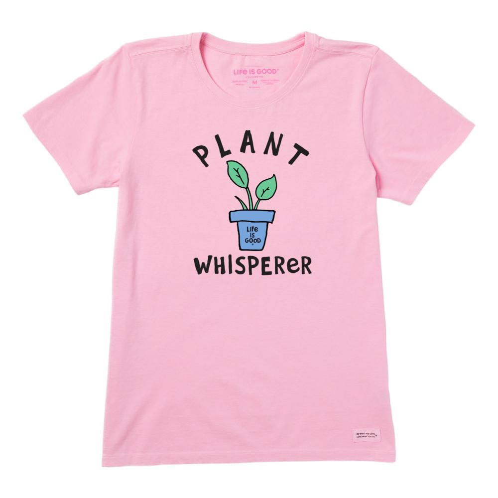 Life is Good Women's Plant Whisperer Crusher-Lite Tee HAPPYPINK