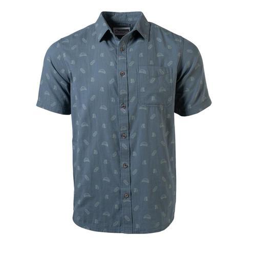 Mountain Khakis Men's Camper Short Sleeve Shirt Dusk_985