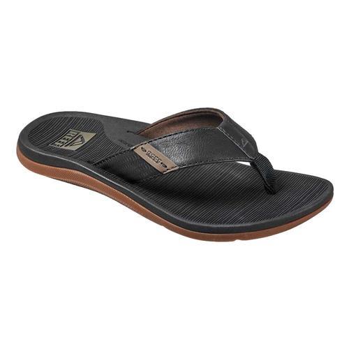 Reef Men's Santa Ana Sandals Black