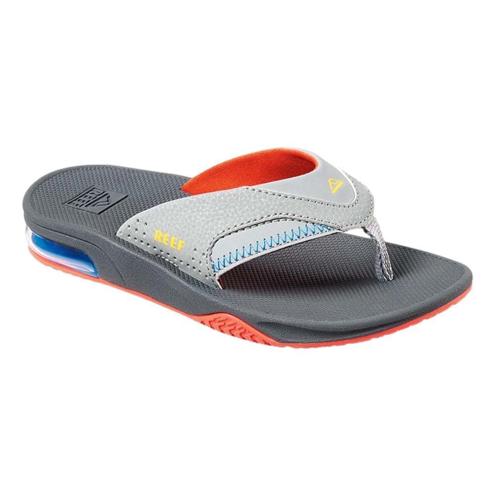 Reef Kids Fanning Sandals RED_YELLOW