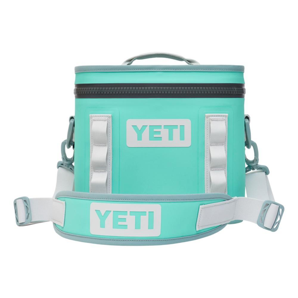 YETI Hopper Flip 8 Soft Cooler AQUIFER_BLUE