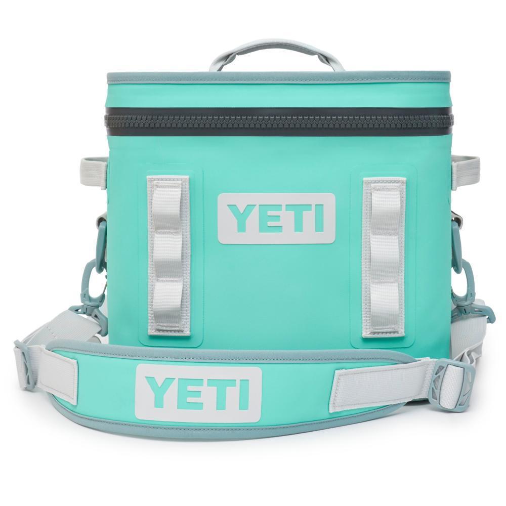 YETI Hopper Flip 12 Soft Cooler AQUIFER_BLUE