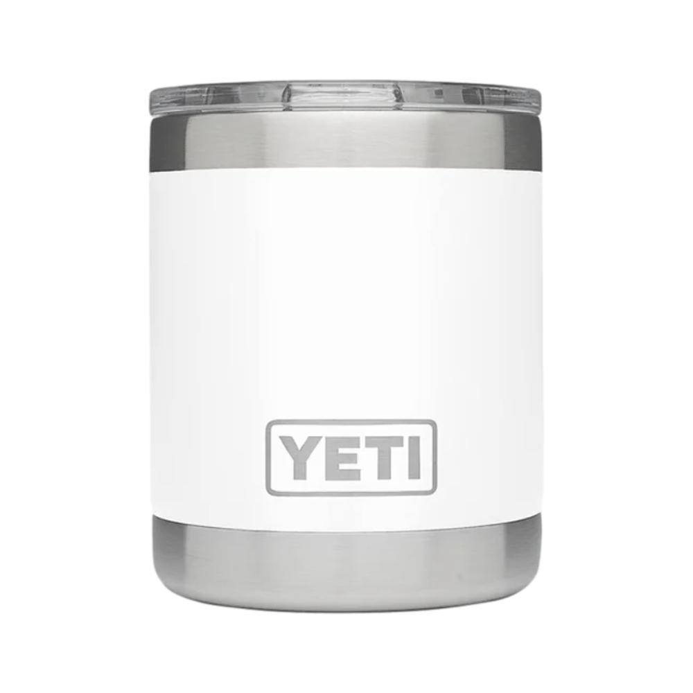 YETI Rambler 10oz Lowball with MagSlider Lid WHITE