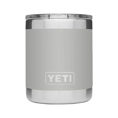 YETI Rambler 10oz Lowball with MagSlider Lid Granite_grey