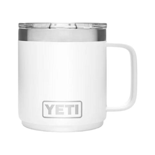 YETI Rambler 10oz Stackable Mug with MagSlider Lid White