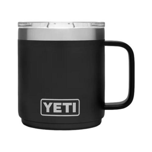 YETI Rambler 10oz Stackable Mug with MagSlider Lid Black