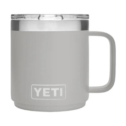 YETI Rambler 10oz Stackable Mug with MagSlider Lid Granite_grey