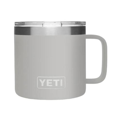 YETI Rambler 14oz Mug with MagSlider Lid Granite_grey