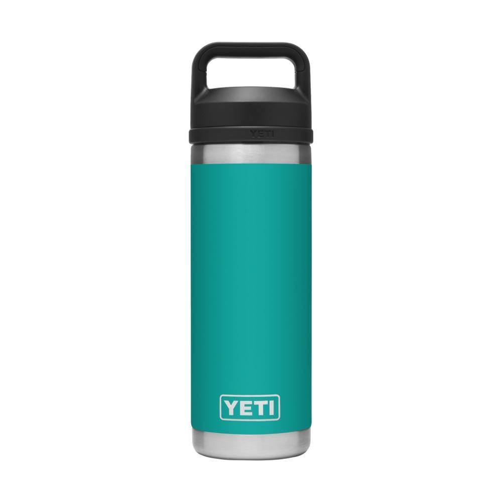 YETI Rambler 18oz Bottle with Chug Cap AQUIFER_BLUE